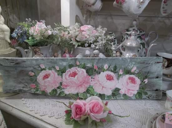 (Qualina Rose) Handpainted Sign