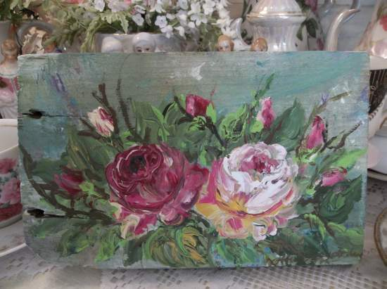 (Windy Roses) Handpainted Sign
