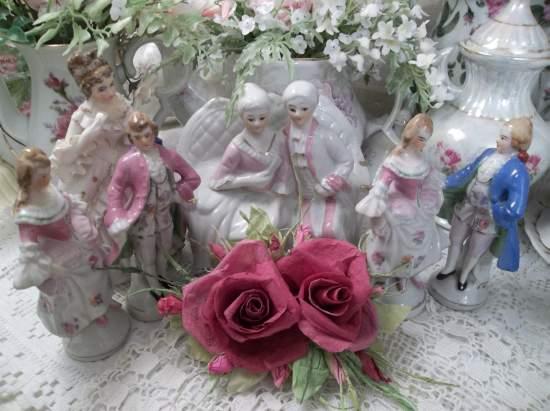 (Deeply Dear)  Handmade Paper Rose Clip