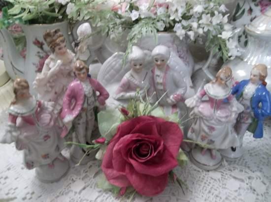 (Truest Romance) Handmade Paper Rose Clip
