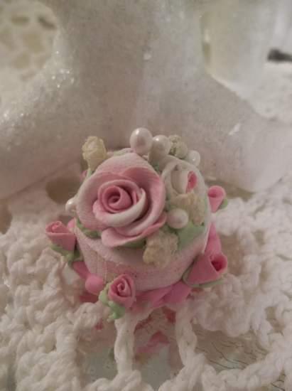 (Pennie Cake) Doll House Sized Fake Cake