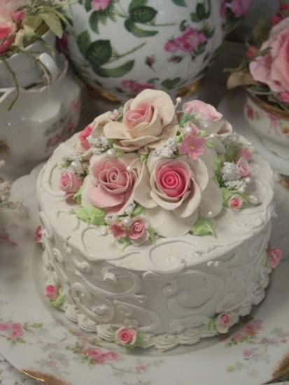 (Winter Rosie) Fake Cake