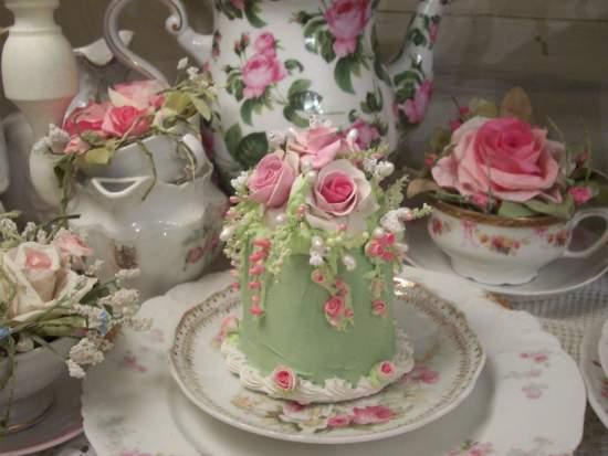 (Rosa Petal) Fake Cake