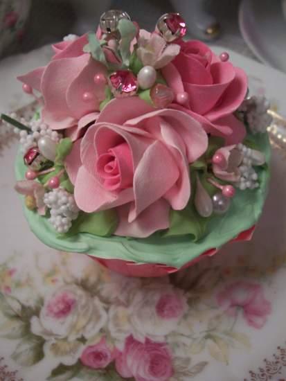 (Glamour Shine Cupcake) Cupcake