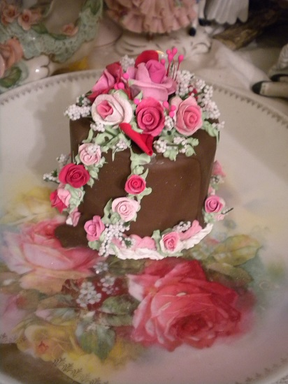 (Choco Valentine) Funky Junk Fake Cake