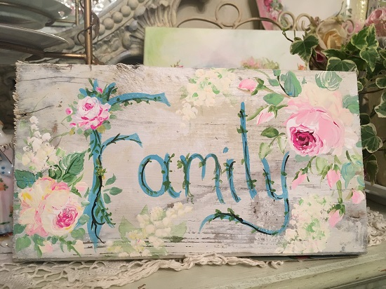 (Family) Handpainted Sign