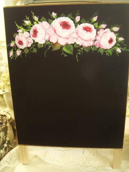 (Easel) Easel - Chalkboard - Magnetic - Dry Erase Board