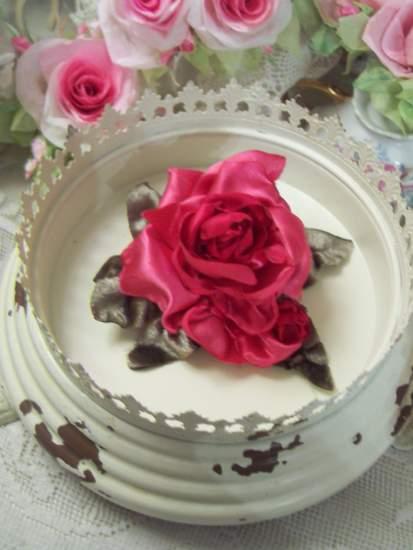 (RaspberryRose) Satin Rose