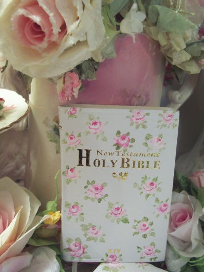 (SweetOne) Handpainted Pocket New Testament Bible