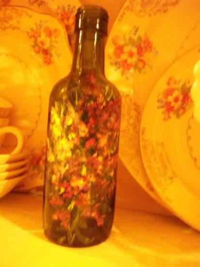 (SGWB19) Handpainted Bottle