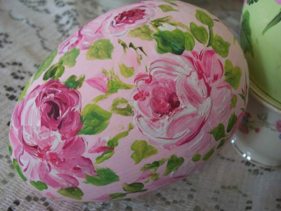 (BigEggH) Handpainted Fake Egg