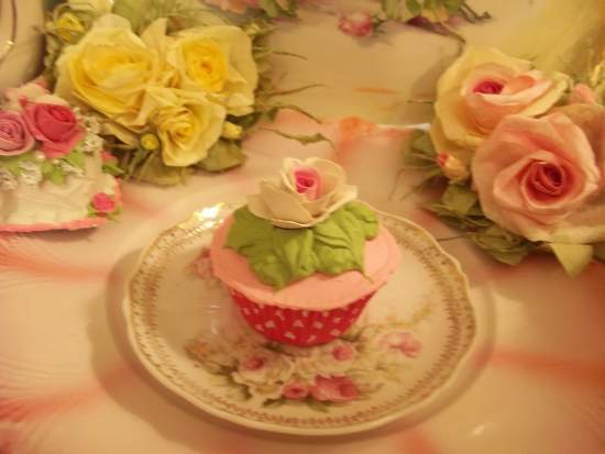 (Rosarina) Fake Cupcake