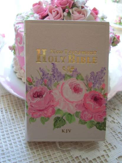 (BibleC) Handpainted Pocket New Testament Bible